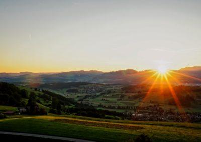 Wattenwil-Sonnenuntergang